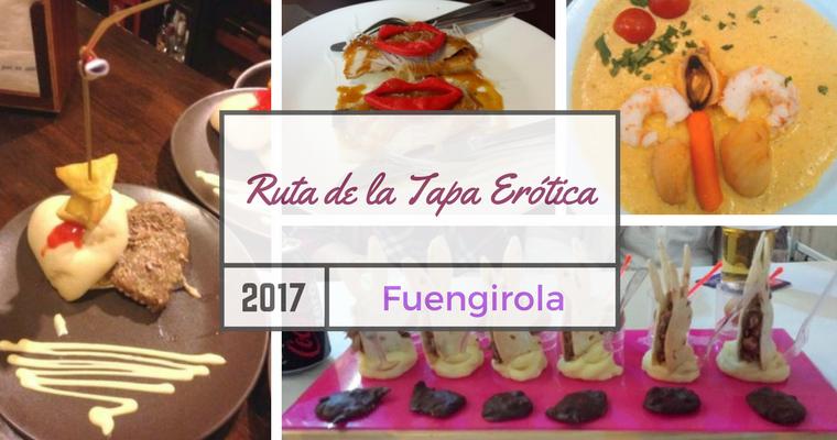 Ruta de la Tapa Erótica 2017 en Fuengirola