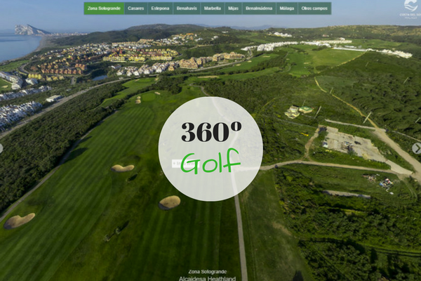 360 degree images of Costa del Sol Golf Courses