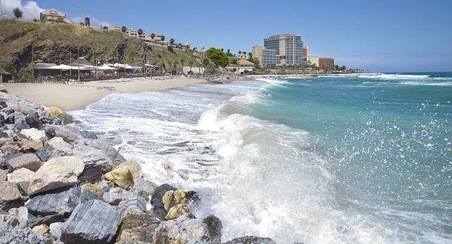 Torrevigia Beach in Benalmadena