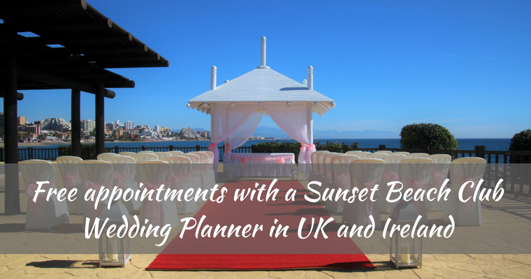 wedding planner appointments in UK and Ireland