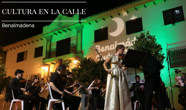 Culture in the streets of Benalmadena