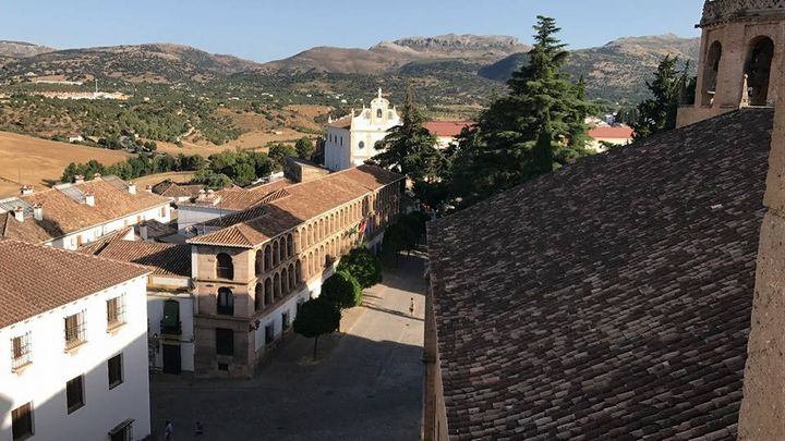 Views of Ronda from the Santa Maria Church Roof