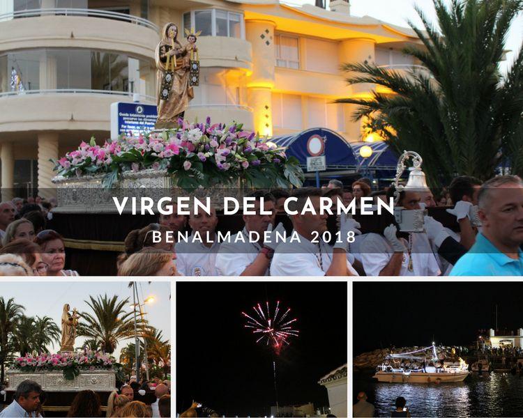 Virgen del Carmen celebrations in Benalmadena 2018