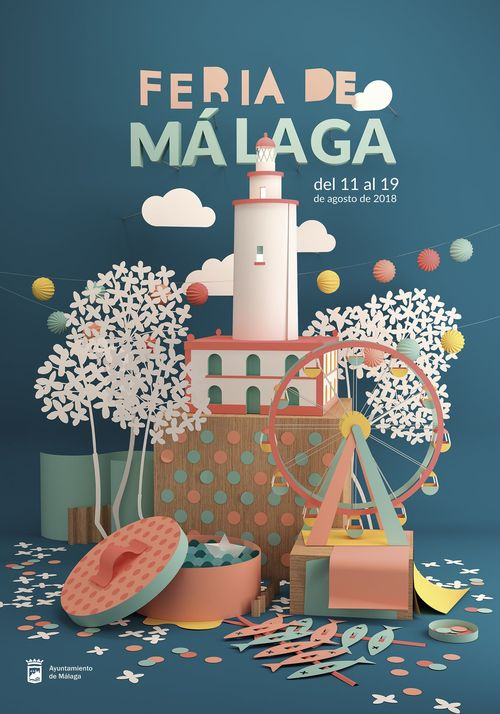 Poster for the Malaga Fair 2018