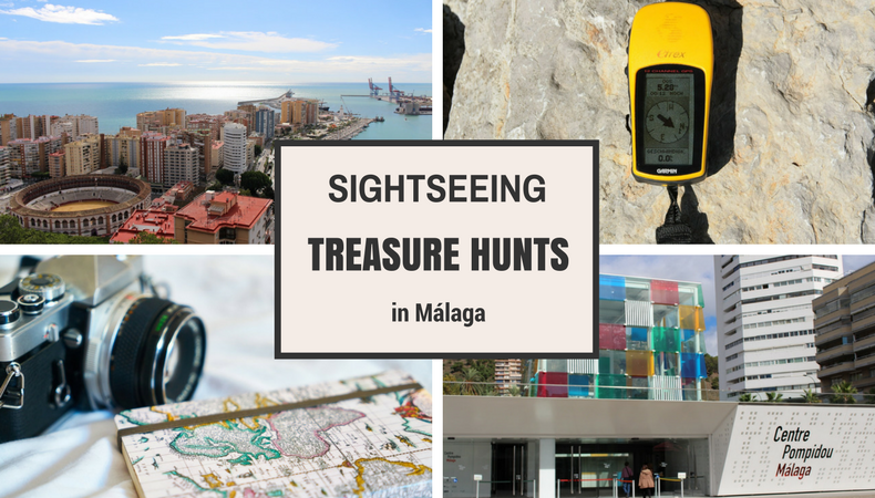 Sightseeing treasure hunt in Malaga