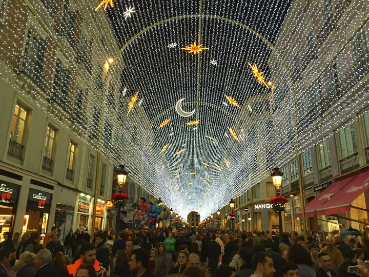 Christmas Lights in Malaga