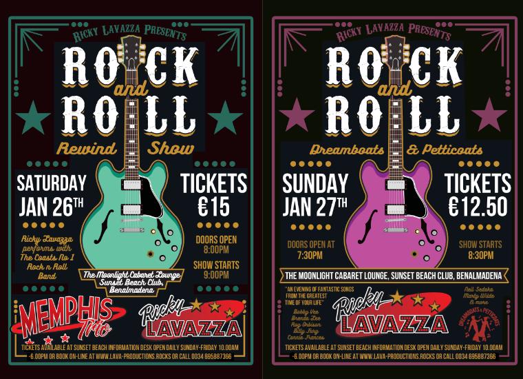 Ricky's 50's Rock n Roll Rewind