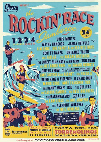 Poster for Rockin Race Jamboree in Torremolinos