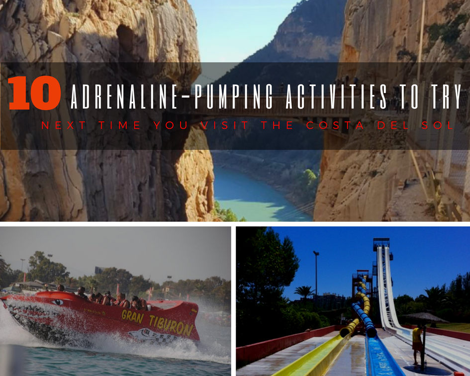 Adrenaline-Pumping Activities to try on the Costa del Sol