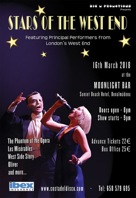 Stars of the West End Show (poster)