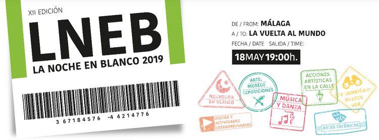 La Noche en Blanco Málaga 2019