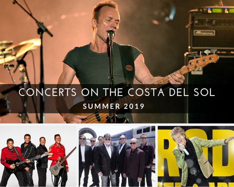 Concerts on the Costa del Sol Summer 2019