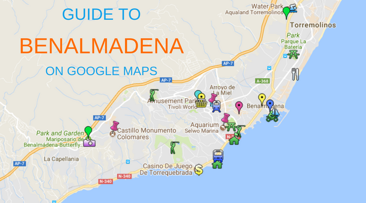 Map Of Spain Google Maps.Map Of Benalmadena Things To Do In Benalmadena Sunset Beach Club