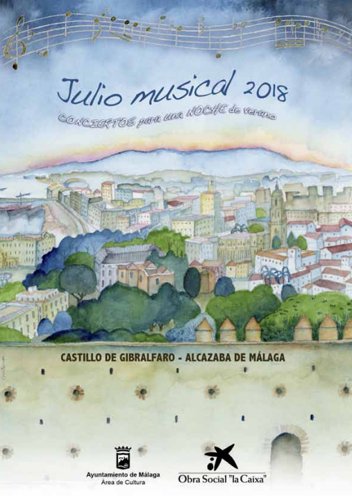 Musical July in Malaga