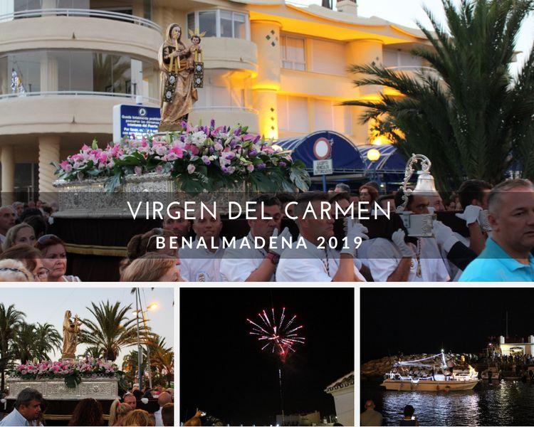 Virgen del Carmen Benalmadena 2019