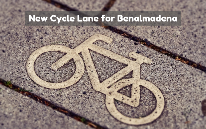 New Cycle Lane for Benalmadena