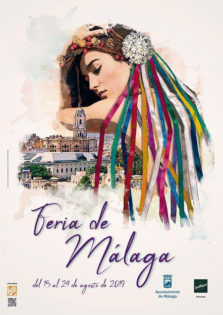 Poster for the Málaga Fair