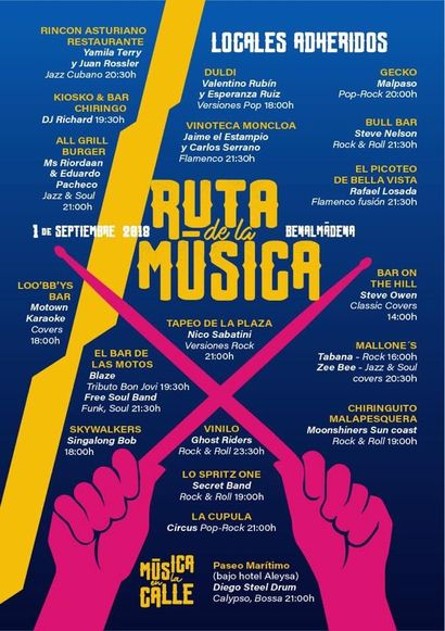 Poster for Benalmadena Music Route