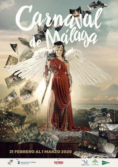 Malaga Carnival 2020 poster