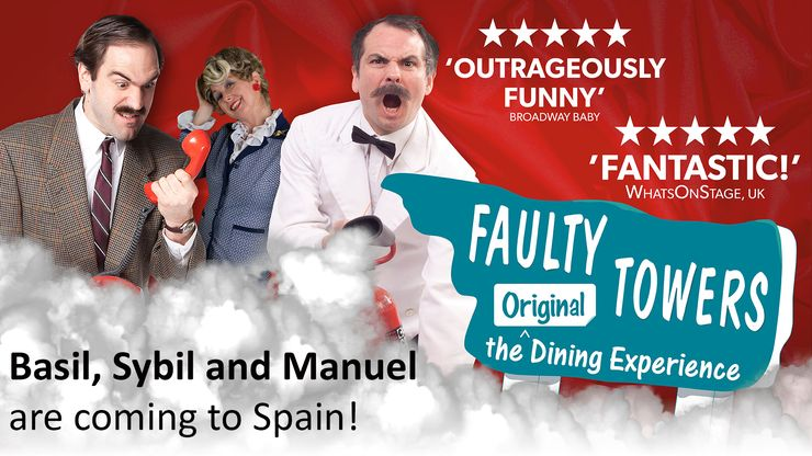 Faulty Towers Dining Experience at Sunset Beach Club, Benalmadena