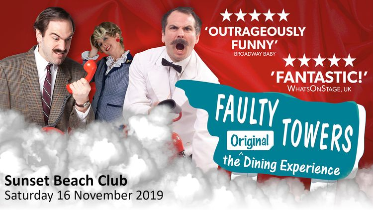 Faulty Towers Dining Experience November 2019