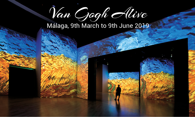 Van Gogh Alive - Malaga