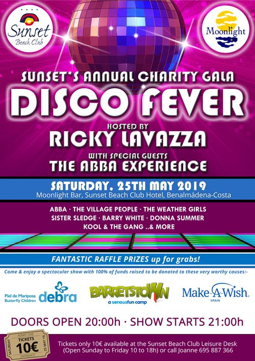 Disco Fever at Sunset Beach Club Charity Gala