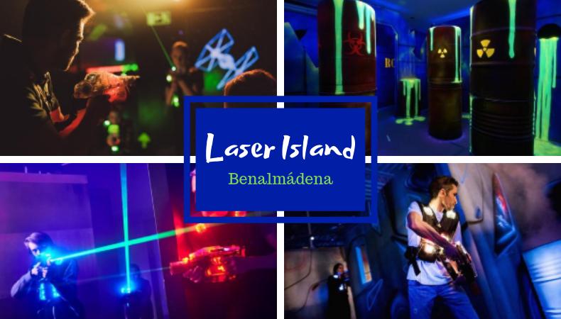Laser Island in Benalmadena