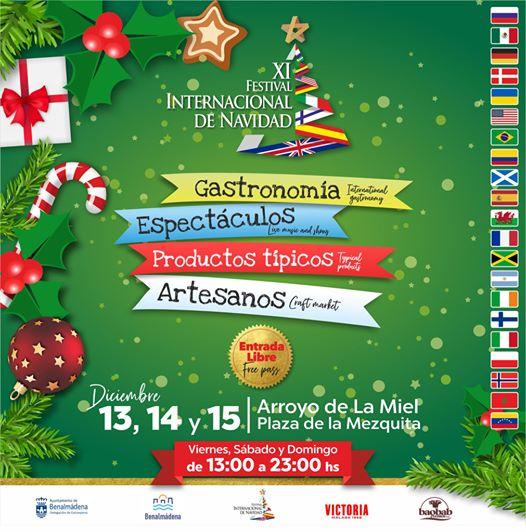 Internation Christmas Festival in Benalmadena