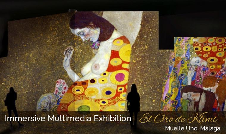 El Oro de Klimt - Muelle Uno Malaga