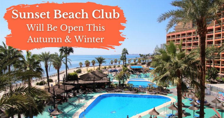 Sunset Beach Club will open in autumn and Winter 2020/21